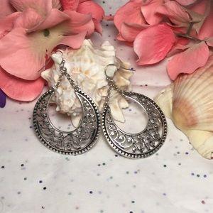 Crescent Earrings, NWOT